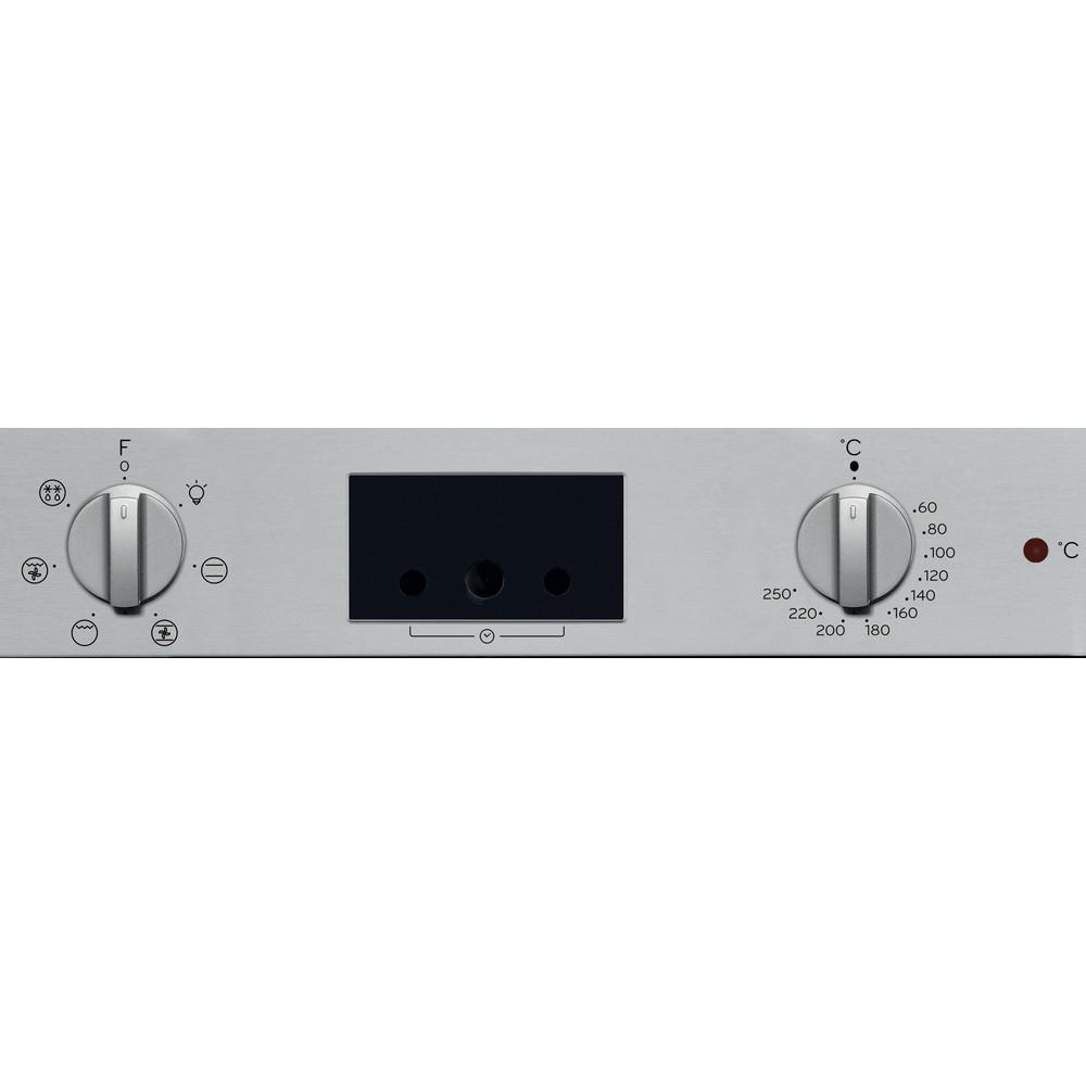 Indesit Духовой шкаф Встраиваемый IFW 65Y0 IX Электрическая A Control panel