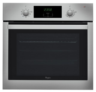 Whirlpool built -in electric oven: inox colour, self cleaning - AKP 742 IX