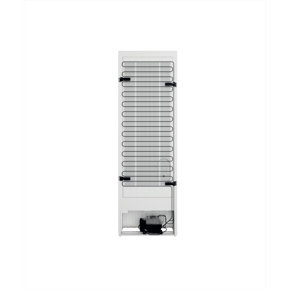 Indesit Комбиниран хладилник с камера Свободностоящи INFC8 TI21W Бял 2 врати Back / Lateral