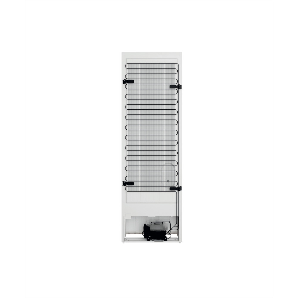 Indesit Külmik-sügavkülmik Eraldiseisev INFC8 TI21W Valge 2 doors Back / Lateral