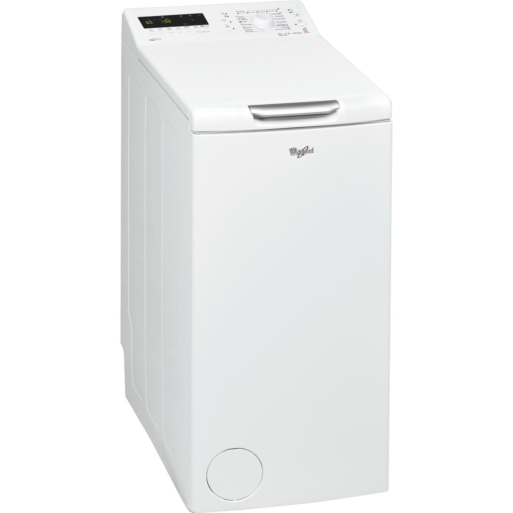 Whirlpool toppmatad tvättmaskin: 6 kg - AWEco 9650