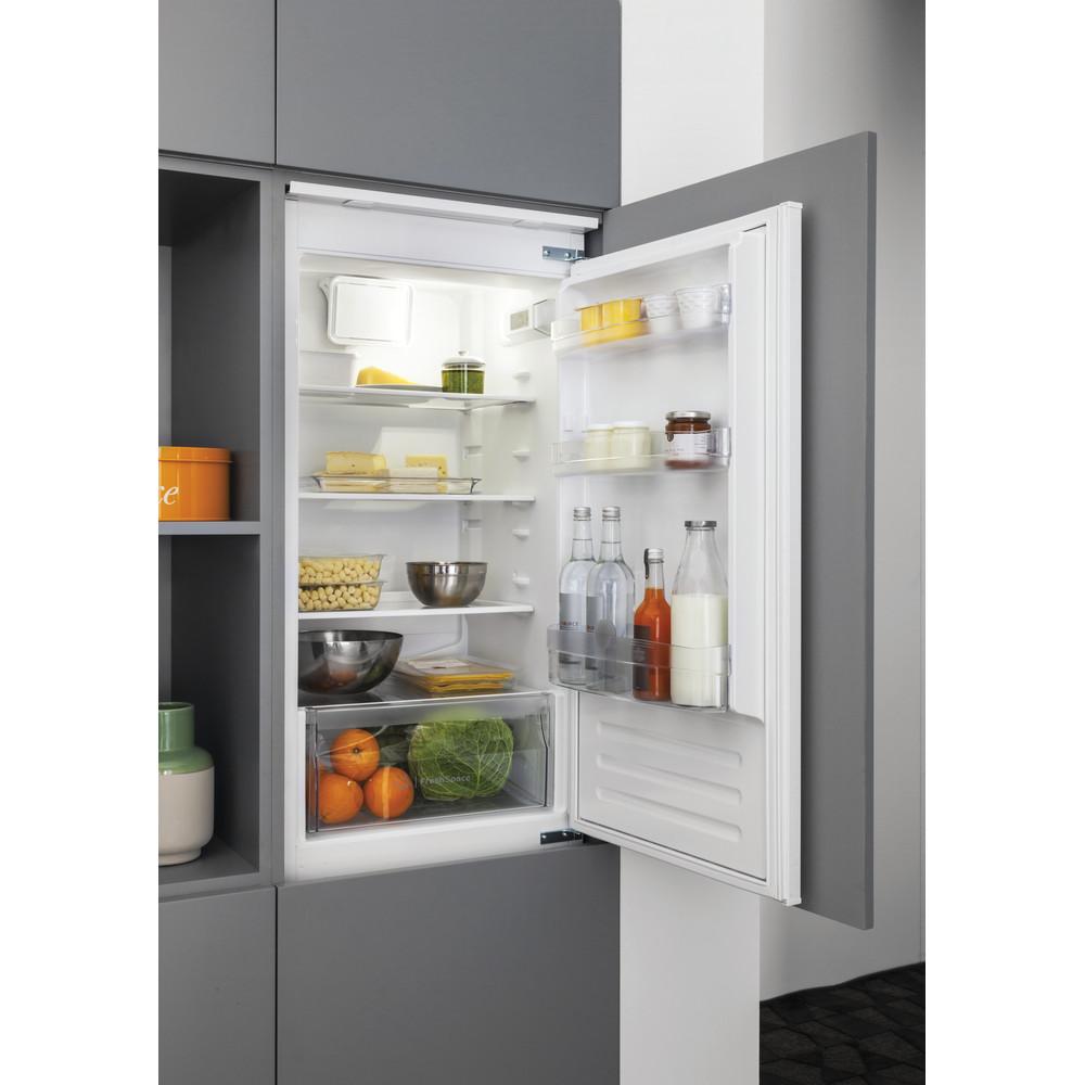 Indesit Combinazione Frigorifero/Congelatore Da incasso B 18 A1 D V E/I 1 Bianco 2 porte Lifestyle perspective open