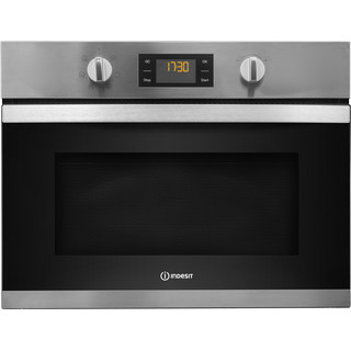 Indesit Aria MWI 3443 IX Built-in Microwave in Stainless Steel