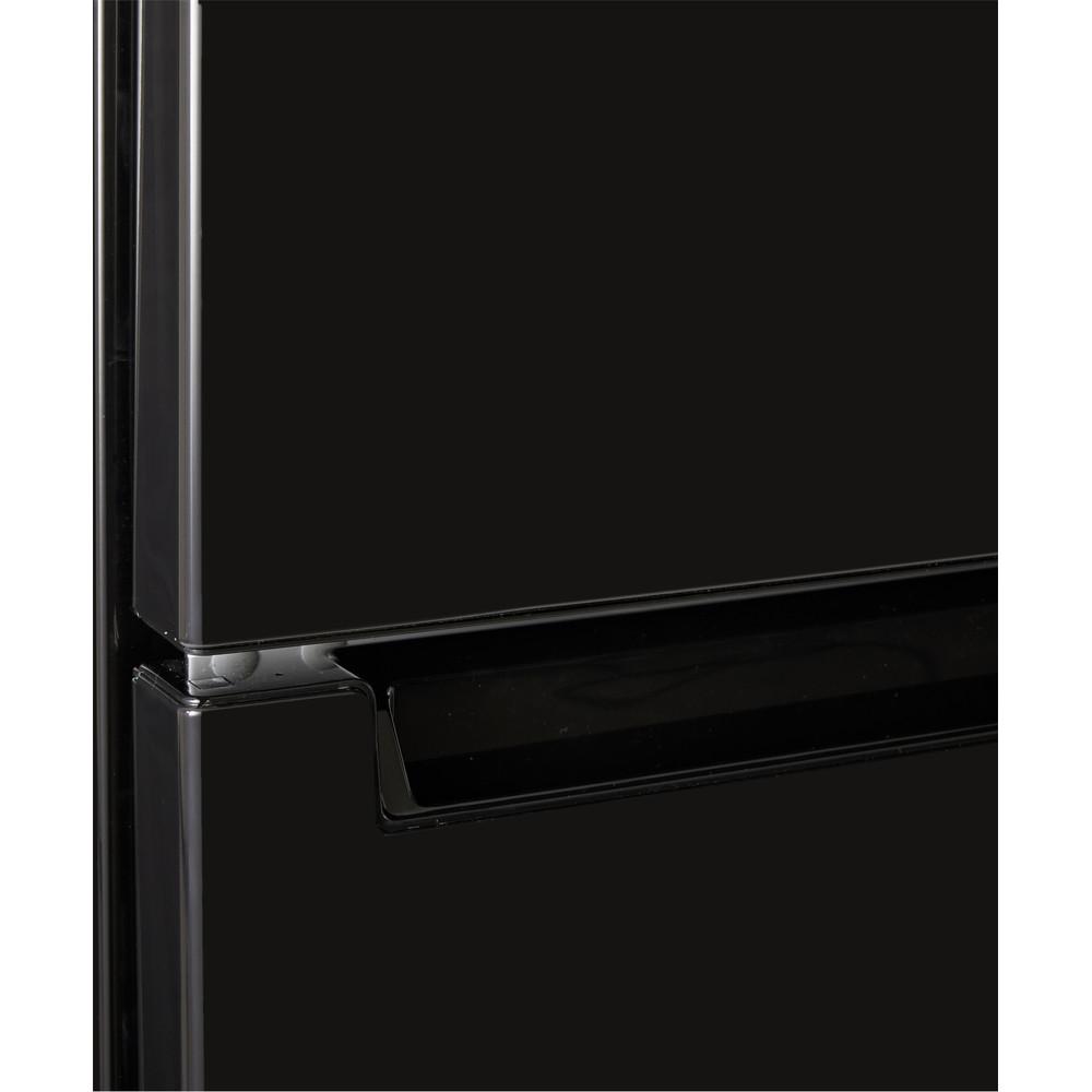 Indesit Réfrigérateur combiné Pose-libre LR8 S2 K B Noir 2 portes Lifestyle detail