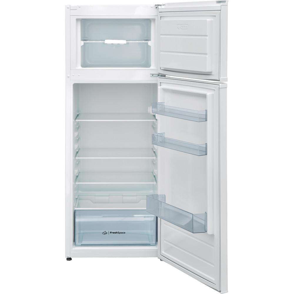 Indesit Combinazione Frigorifero/Congelatore A libera installazione I55TM 4110 W Bianco 2 porte Frontal open