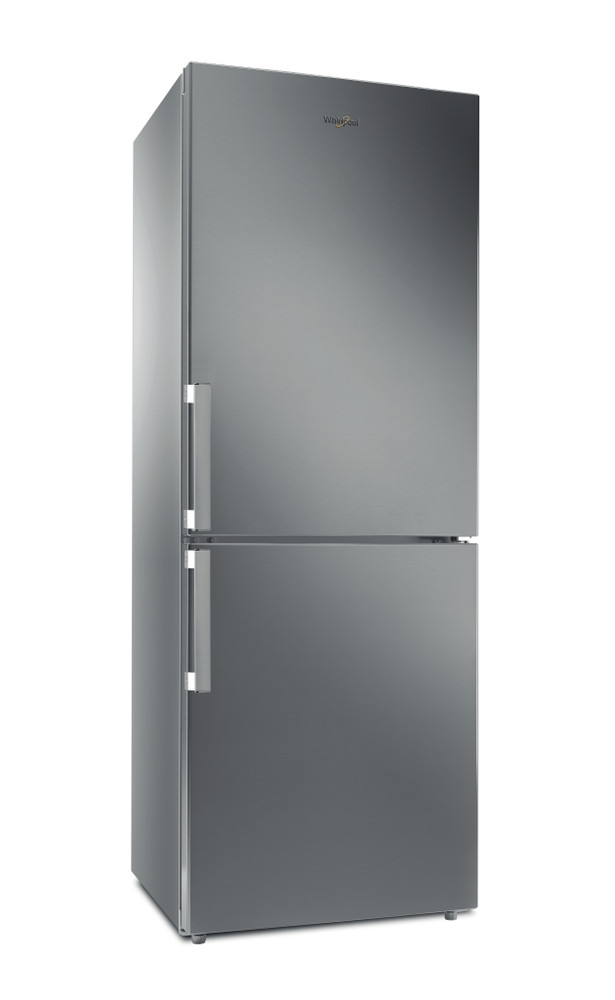Whirlpool Fridge/freezer combination Samostojni WB70I 931 X Optic Inox 2 doors Perspective