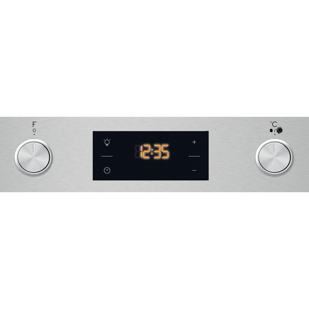 Indesit Духовой шкаф Встраиваемый IFW 3544 JH IX Электрическая A Control panel