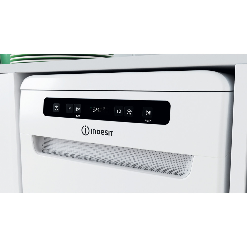 Indesit Посудомоечная машина Отдельностоящий DSFC 3M19 Отдельностоящий A Lifestyle control panel