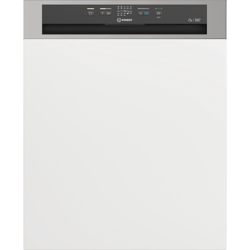 Indesit Lave-vaisselle Encastrable DBE 2B19 A X Int'grable F Frontal