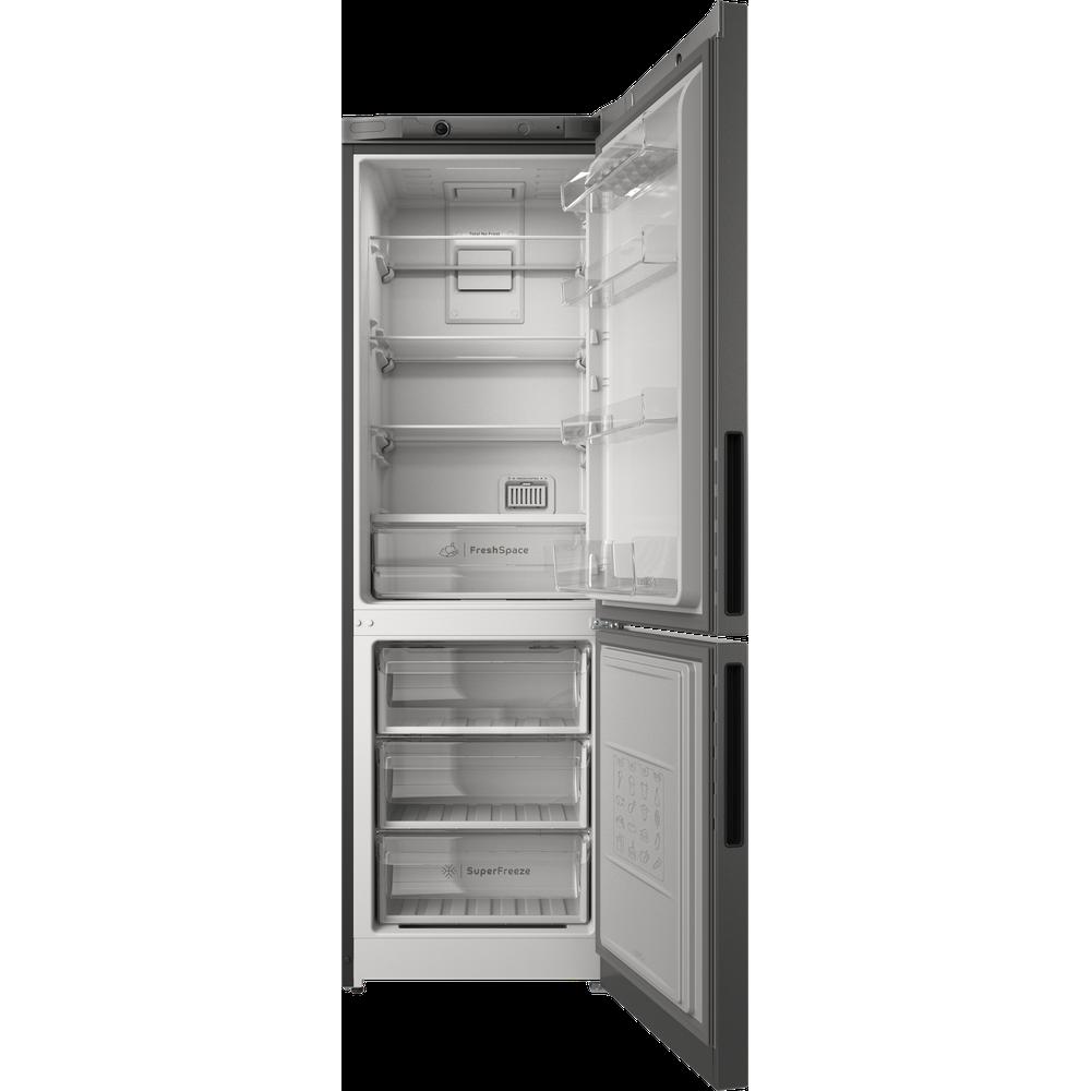 Indesit Холодильник с морозильной камерой Отдельностоящий ITR 4180 S Серебристый 2 doors Frontal open