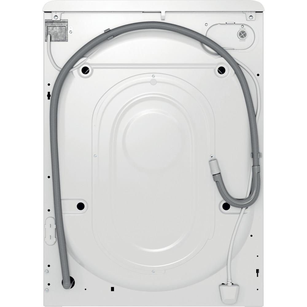 Indsit Maşină de spălat rufe Independent MTWE 71252 W EE Alb Încărcare frontală A +++ Back / Lateral