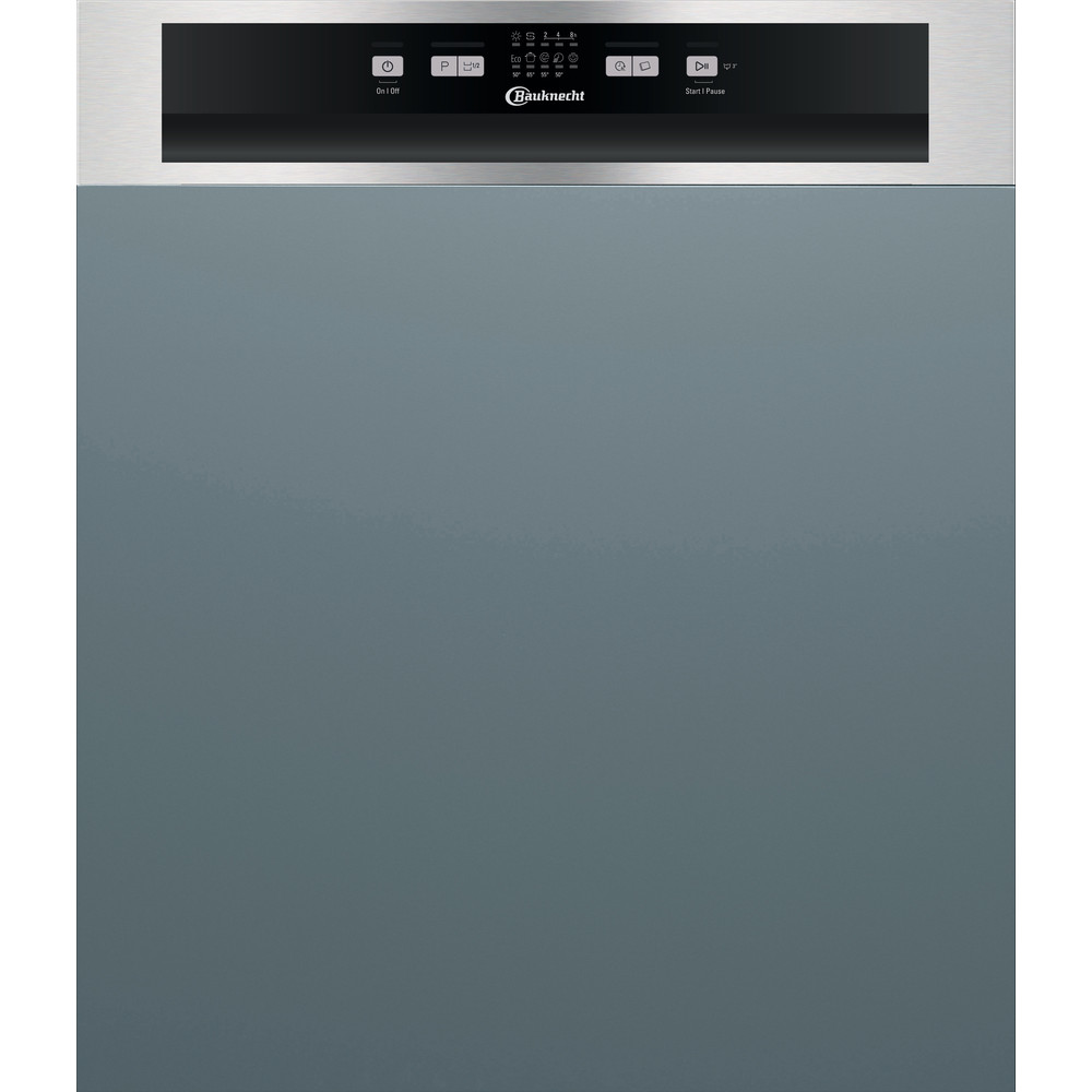 Bauknecht Dishwasher Einbaugerät BRBE 2B19 X Teilintegriert F Frontal