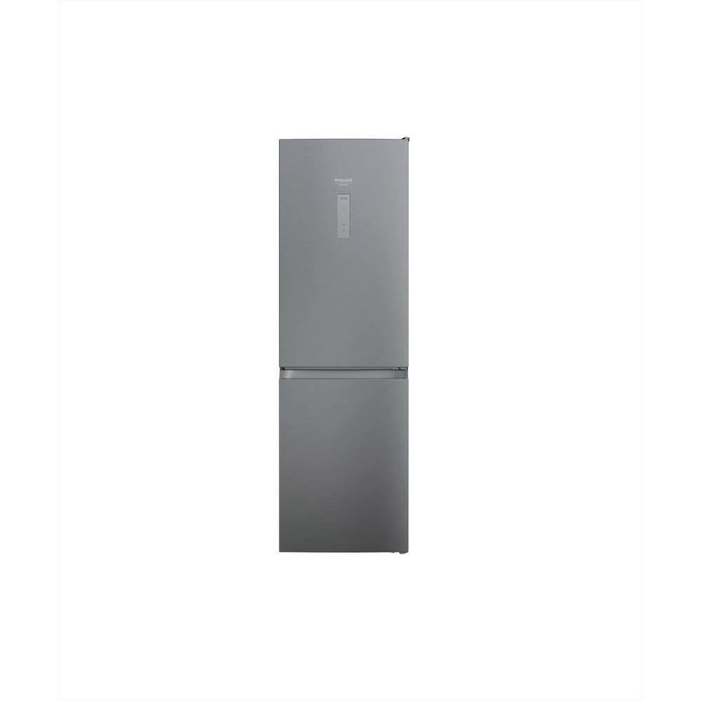 Hotpoint_Ariston Combinație frigider-congelator Neincorporabil HAFC8 TO32SX Saturn Steel 2 doors Frontal