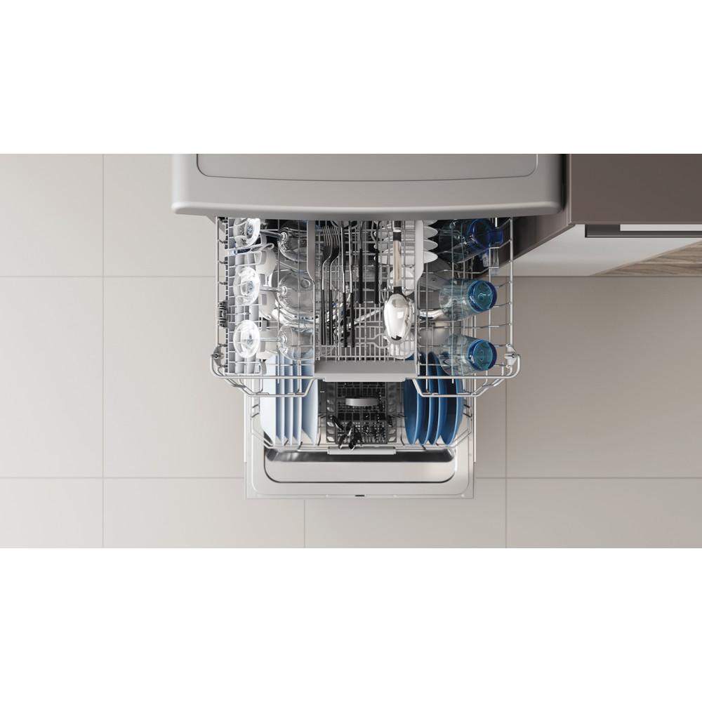 Indesit Mašina za pranje posuđa Samostojeći DFC 2B+19 AC X Samostojeći F Rack