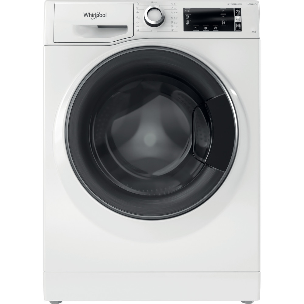 Whirlpool frontmatad tvättmaskin: 9 kg - NWLCD 963 WD A EU N