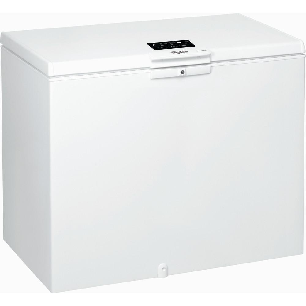 Congelador horizontal de libre instalación Whirlpool: color blanco - WHE3133