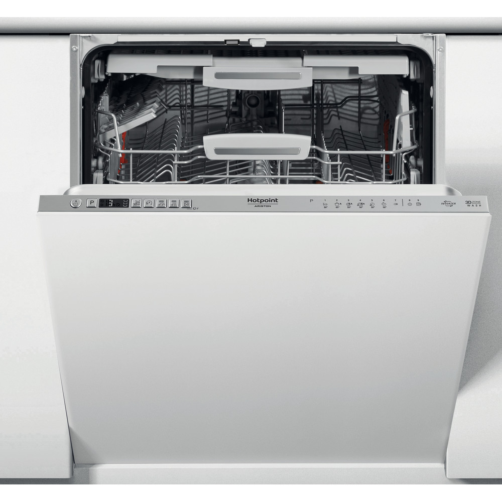 Hotpoint_Ariston Nõudepesumasin Integreeritav HIO 3T133 WF Full-integrated D Frontal