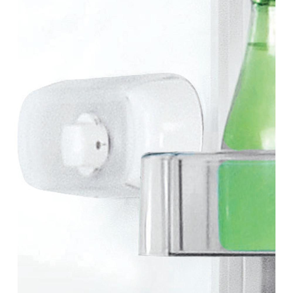 Indesit Combinazione Frigorifero/Congelatore A libera installazione LR8 S1 F W Bianco 2 porte Lifestyle control panel