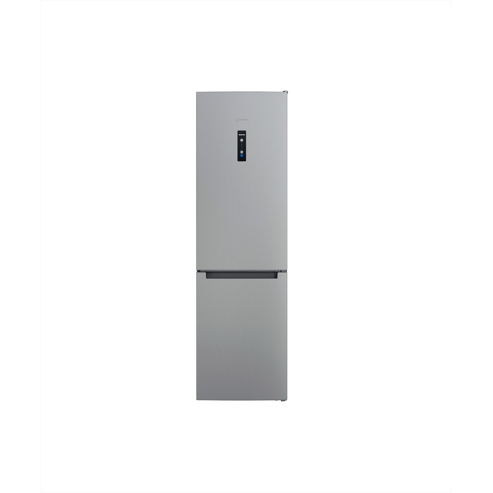 Indesit Комбиниран хладилник с камера Свободностоящи INFC9 TO32X Инокс 2 врати Frontal