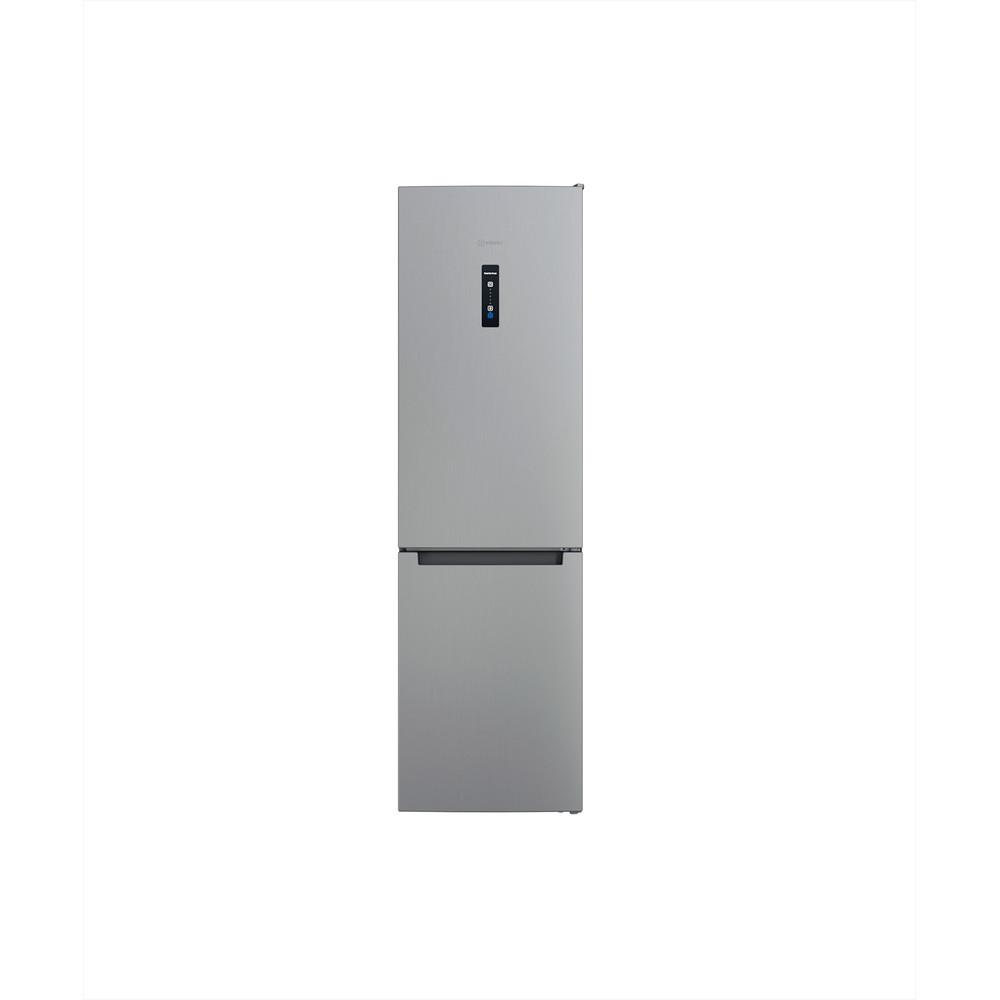 Indesit Combiné réfrigérateur congélateur Pose-libre INFC9 TO32X Inox 2 portes Frontal