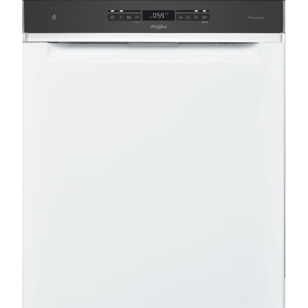 Whirlpool oppvaskmaskin: farge hvit, 60 cm - WUO 3T333 PF