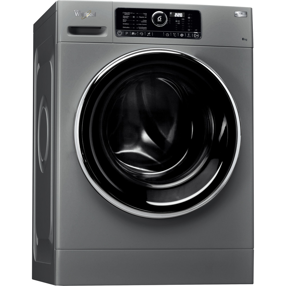 Lavadora carga frontal de libre instalación Whirlpool: 8kg - FSCR 80422S