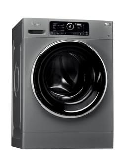 Máquina de lavar roupa de carga frontal de livre instalação da Whirlpool: 8 kg - FSCR 80422S