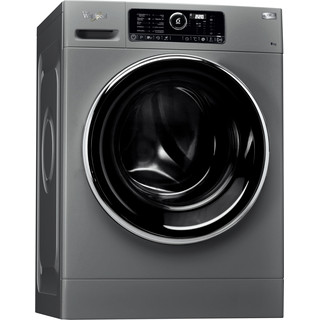 Whirlpool Máquina de lavar roupa Independente com possibilidade de integrar FSCR 80422S Prata Carga Frontal A+++ Perspective