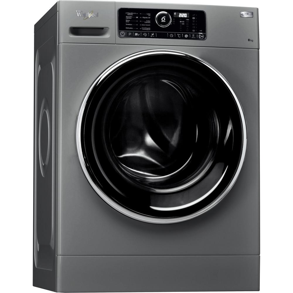 Lavadora carga frontal libre instalación Whirlpool Silver 8 kg A+++-10% FSCR80422S – Motor Zen