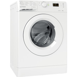 Indesit Πλυντήριο ρούχων Ελεύθερο MTWA 71252 W EE Λευκό Front loader A+++ Perspective