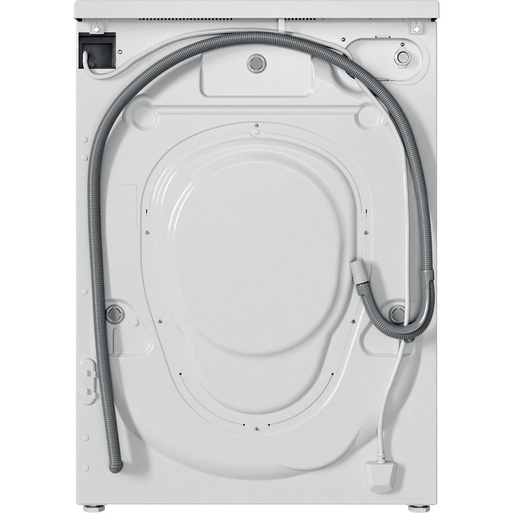 Indesit Lave-linge Pose-libre EWD71452WFR N Blanc Lave-linge frontal E Back / Lateral