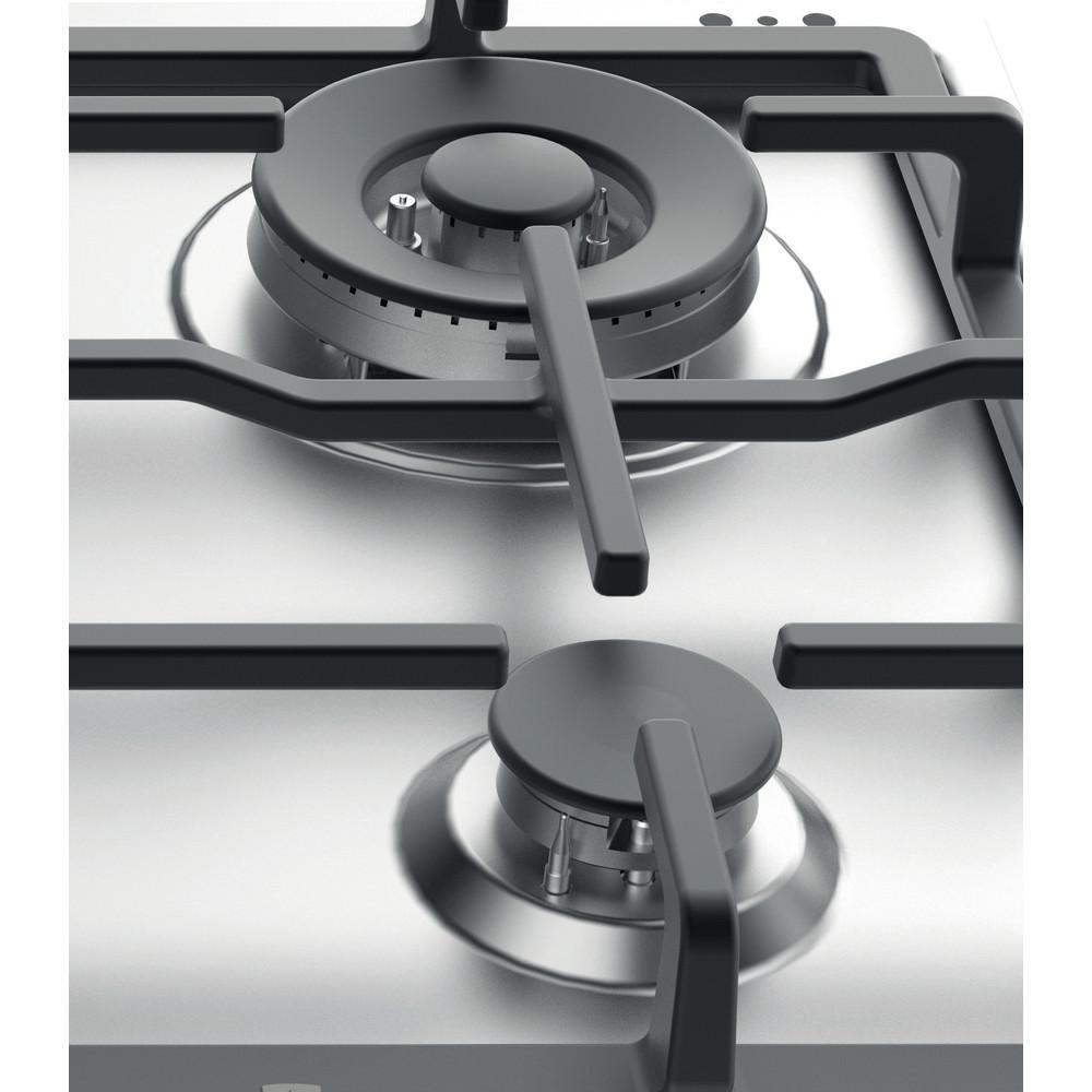 Indesit Kookplaat THP 641 W/IX/I NL Rvs Gas Heating element