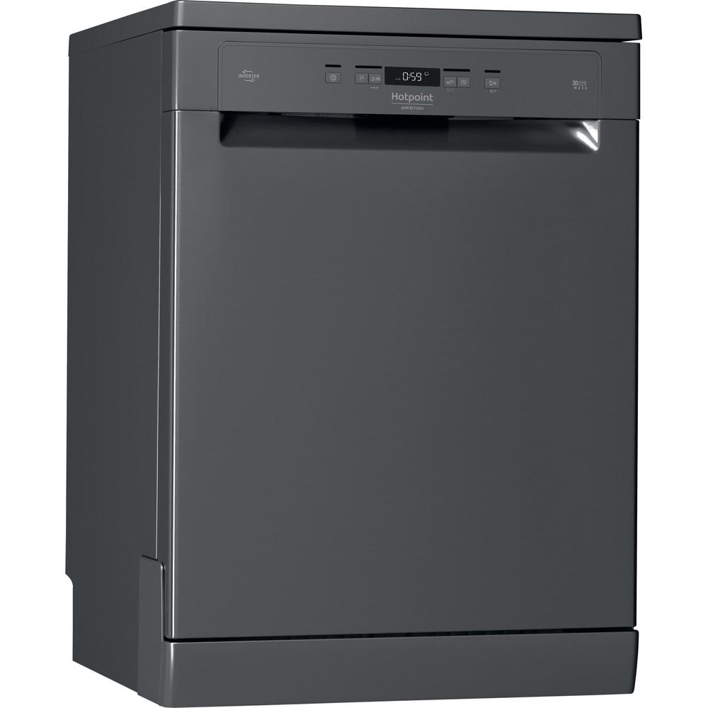 Hotpoint_Ariston Lave-vaisselle Pose-libre HFC 3T141 WC SB Pose-libre A+++ Perspective