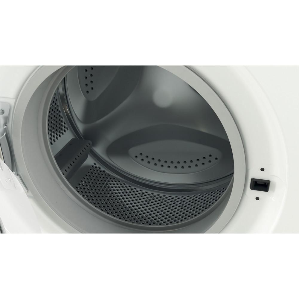 Indesit Lavabiancheria A libera installazione EWC 61051 W IT N Bianco Carica frontale F Drum