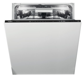 Whirlpool beépíthető mosogatógép: fekete szín, normál méretű - WIS 1150 PEL