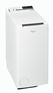 Fritstående Whirlpool-vaskemaskine med topbetjening: 7 kg - TDLR 70231