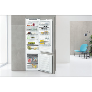 Whirlpool Kombinētais ledusskapis/saldētava Iebūvējams ART 9811 SF2 Balta 2 doors Lifestyle frontal open