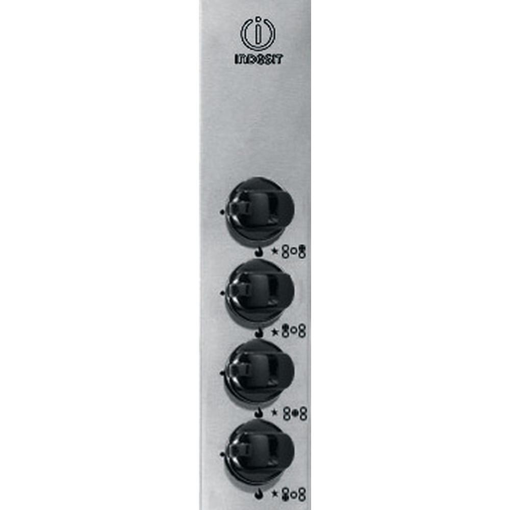 Indesit Piano cottura PIM 950 AS (IX) Inox GAS Control_Panel