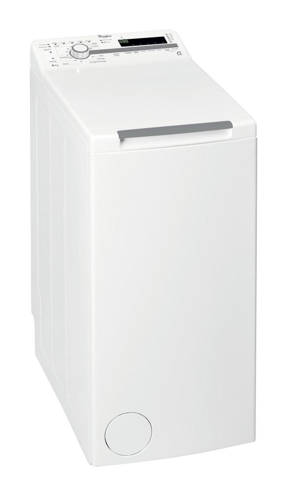 Whirlpool Lave-linge Pose-libre TDLR 60210 Blanc Top loader A+++ Perspective