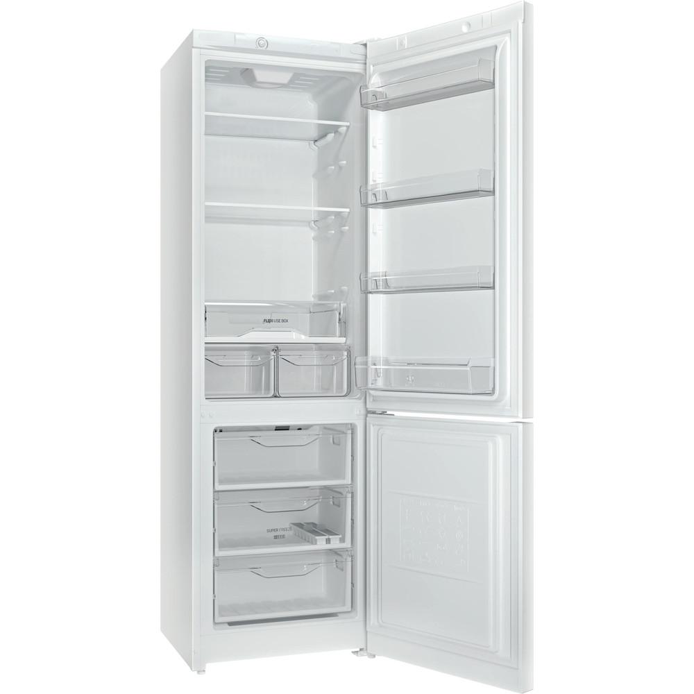 Indesit Холодильник с морозильной камерой Отдельностоящий DS 4200 W Белый 2 doors Perspective open