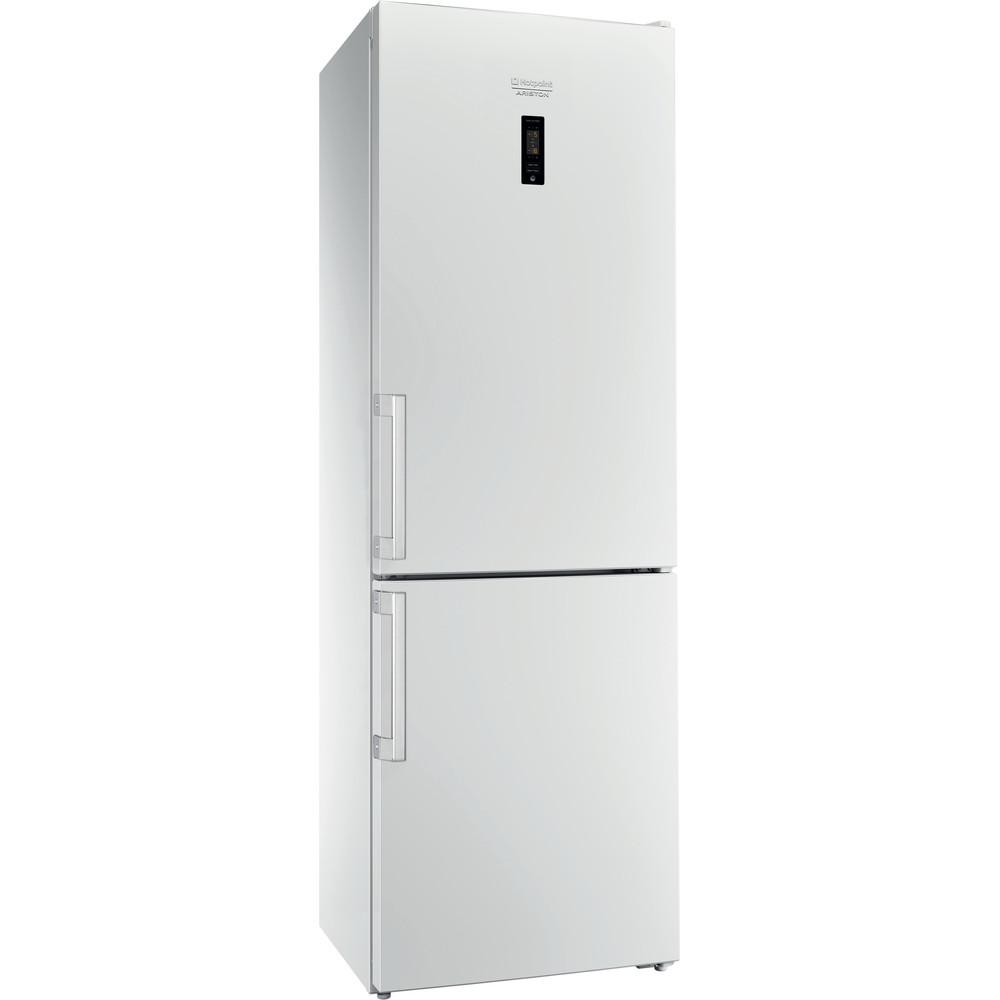 Hotpoint_Ariston Комбинированные холодильники Отдельностоящий HFP 6180 W Белый 2 doors Perspective