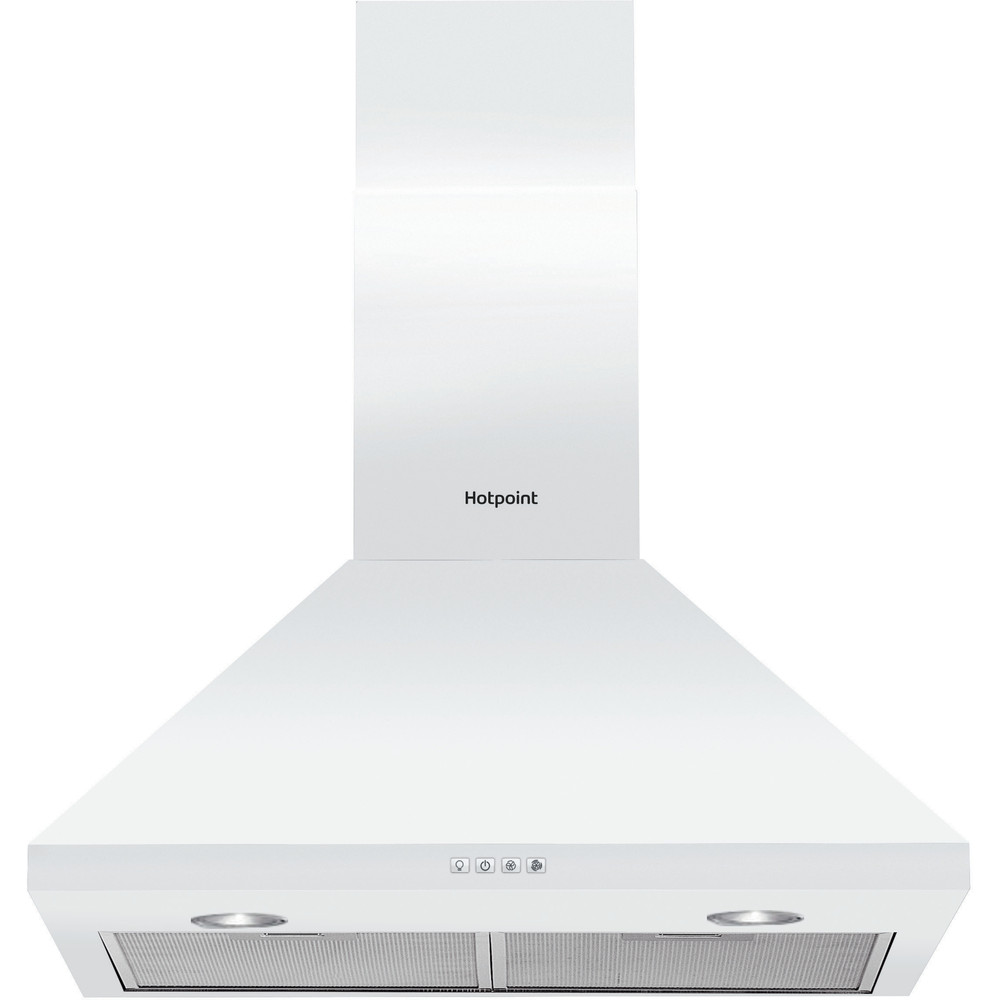Hotpoint HOOD Built-in PHPC 6.4F AM W White Wall-mounted Mechanical Frontal