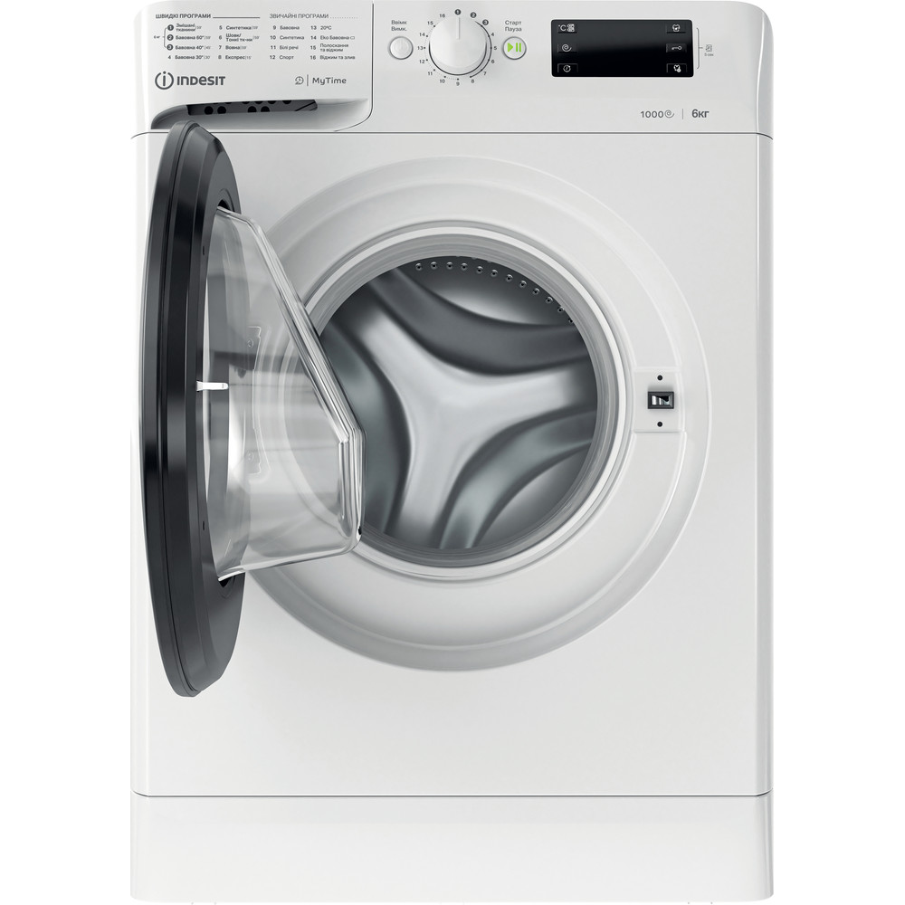 Indesit Пральна машина Соло OMTWSE 61051 WK UA Білий Front loader A+++ Frontal open