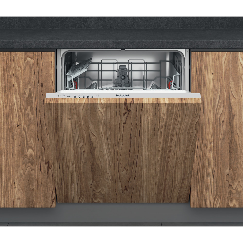 Hotpoint Dishwasher Built-in HIE 2B19 UK Full-integrated F Frontal