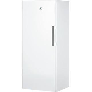 Congelador vertical de livre instalação Indesit: Cor branca