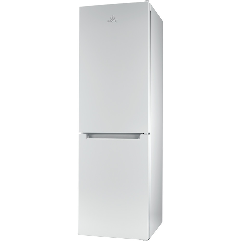 Indesit Комбиниран хладилник с камера Свободностоящи LR8 S1 W Бял 2 врати Perspective