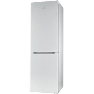 Fritstående kombineret Indesit køleskab/fryser