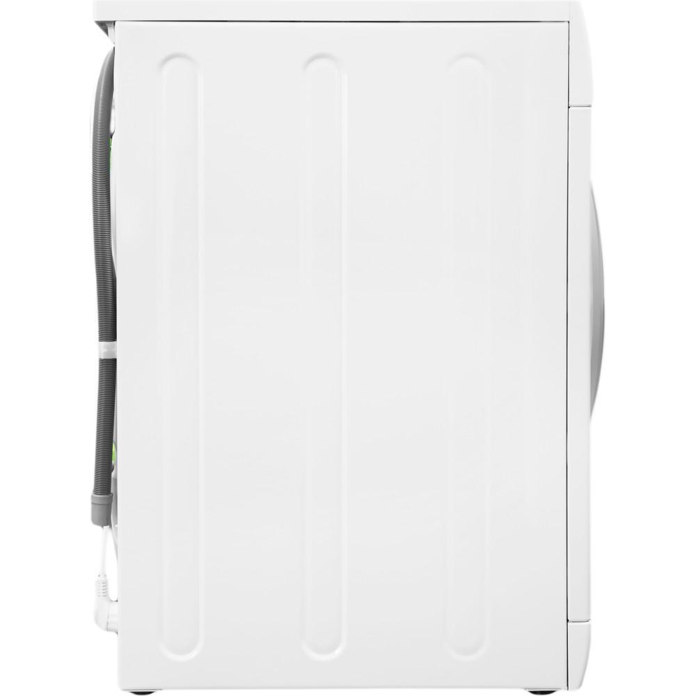 Indesit Стиральная машина Отдельностоящий BWSA 61051 S Белый Фронтальная загрузка A Back_Lateral