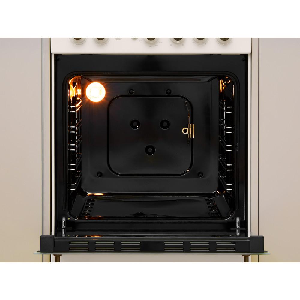 Indesit Cucina con forno a doppia cavità IS5G1MMJ/E Jasmine GAS Cavity