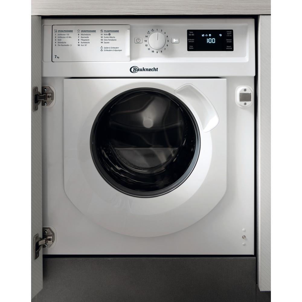 Bauknecht Waschmaschine Einbaugerät BI WMBG 71484E DE Weiss Frontlader A+++ Frontal